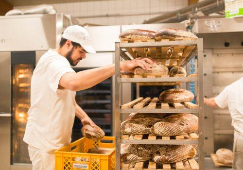Brote schlichten